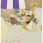 Carousel, 2009, oil on panel, 21x18 inches