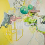 Slaphappy, 2011, oil on panel, 28x24 inches