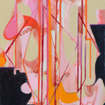 Shuffle, Oil on canvas, 20 x16